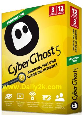 CyberGhost VPN 5 Premium Crack-Daily2k