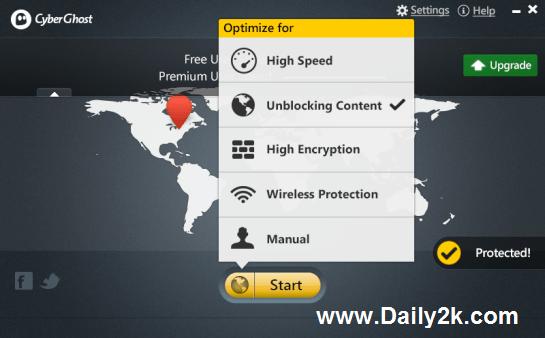 CyberGhost VPN 5 Premium crack Free-Daily2k