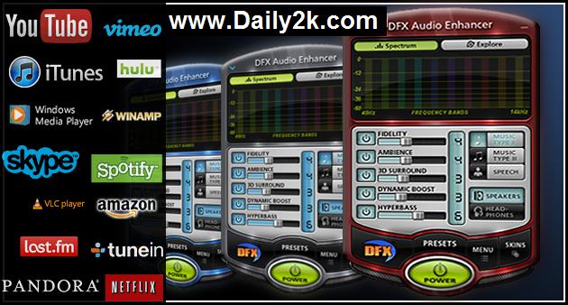 DFX Audio Enhancer 11.112 Crack,Keygen Free Download Latest Version