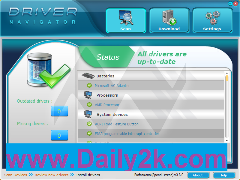 Driver Navigator 3.6 License Key With Crack Free Download LATEST -Daily2k
