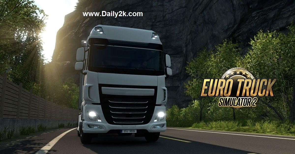 Euro Truck Simulator 2 v1.22.1s Crack Daily2k