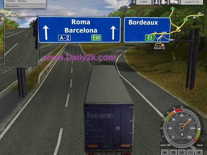Euro Truck Simulator 2 Daily2k