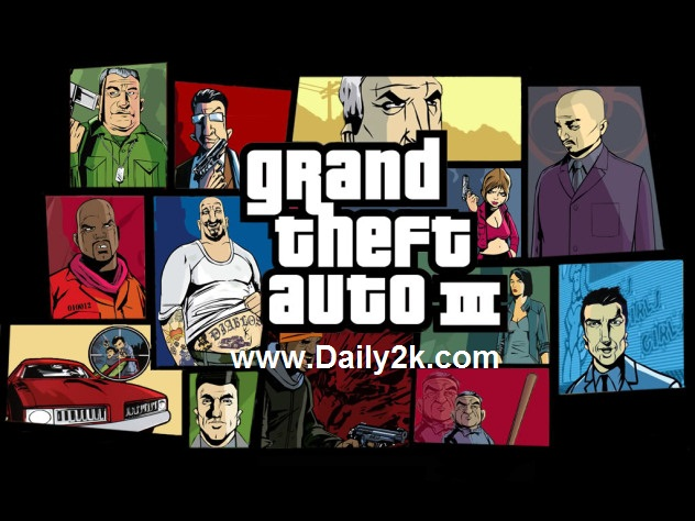 Grand Theft Auto 3 Free Download Full Version-Daily2k