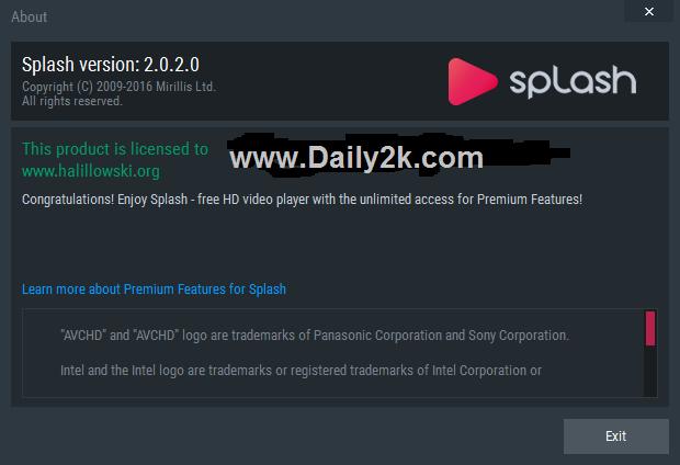 Mirillis Splash Pro 2.0.4 Serial Key Plus Crack Is Free Download -DAily2k