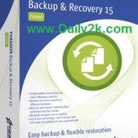 Paragon Backup & Recovery 15 Crack,Keygen 2015 Download [HERE]