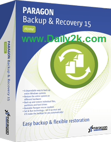 Paragon Backup & Recovery 15 Crack,Keygen 2015