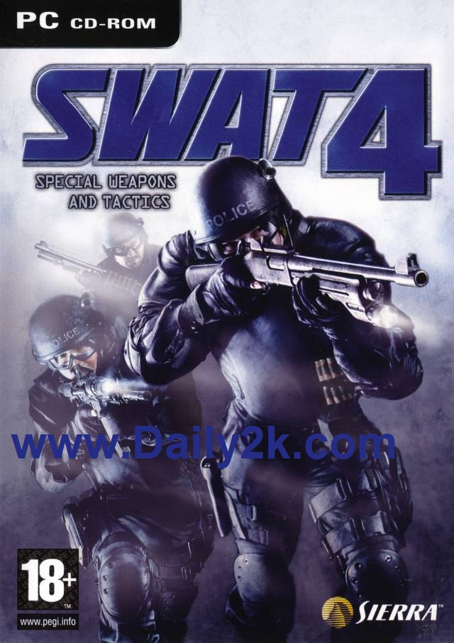 SWAT 4 Serial key With Crack Free Download -Daily2k