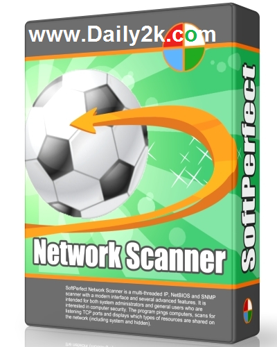 SoftPerfect Network Scanner V6.1.7 Serial Number Free Here Download!-DAily2k