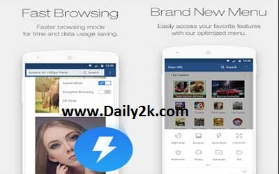 UC Browser Mini 10.7.2 APK Full Version Download -Daily2k
