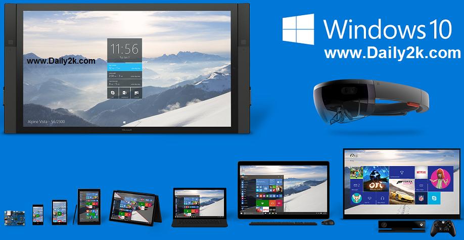 Windows 10 Pro Build 10041 ISO 32-Bit & 64-Bit With Key [Free-Full-Download]