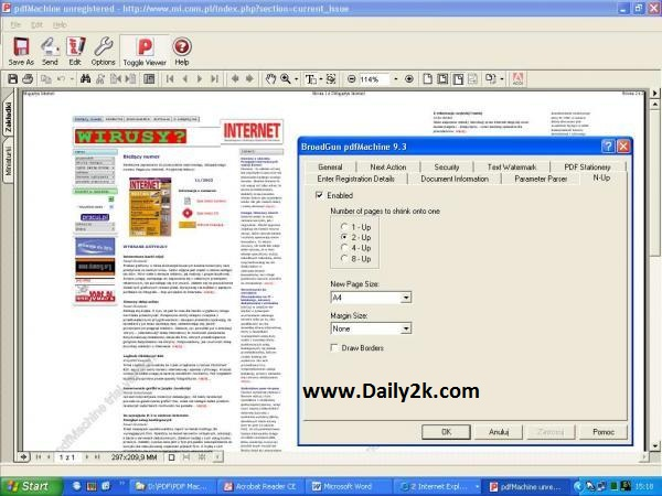 BroadGun PDFMachine Ultimate 14.75 Crack + Serial Key Full Download Here!-Daily2k