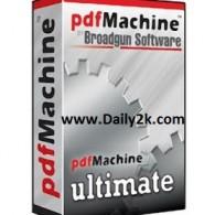 BroadGun PDFMachine Ultimate 14.75 Crack + Serial Key Full Download Here!