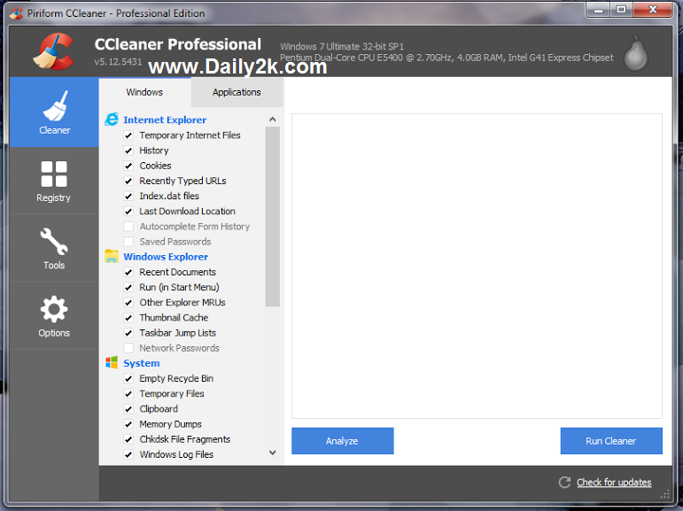 CCleaner Pro 5.12.5431 All Edition Crack With Serial Full Free Download