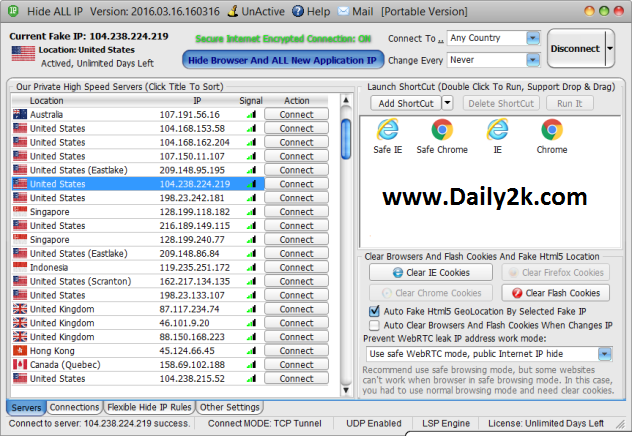 Hide All IP 2016 Preactivated Daily2k