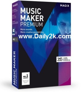 MAGIX Music Maker 22.0.3.63 Crack 2016 Download Full Version