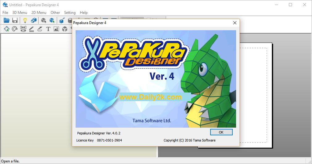 Pepakura Designer 4.0.2 Full Keygen Download -Daily2k