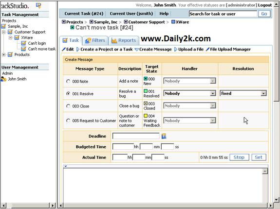 TrackStudio Enterprise Full Version-Daily2k