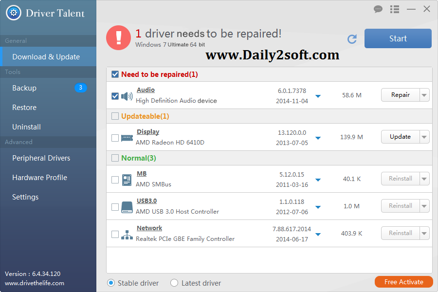 Driver Talent Pro Crack Full And Final Download Latest Update 2016