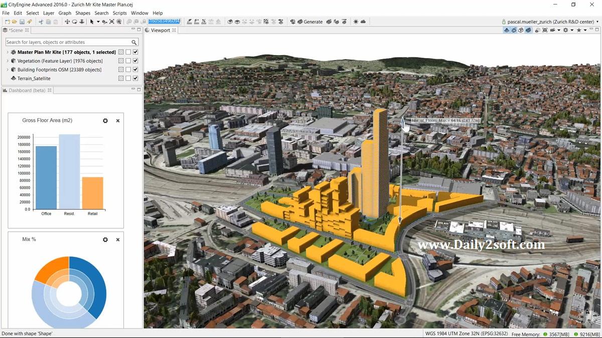 Esri CityEngine 2016 Full Crack Download Latest Update [Free]