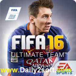FIFA 16 Ultimate Team v2.1.106618 Cracked APK Latest Free Update!!