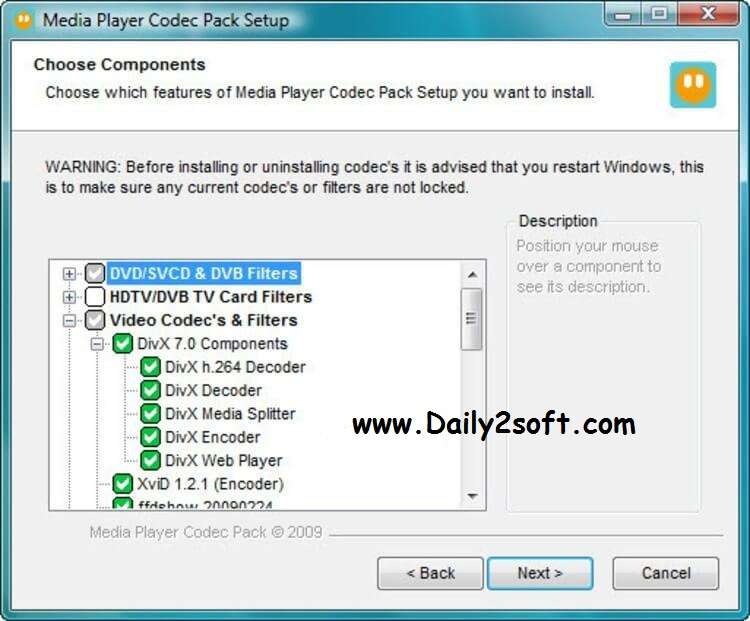 Yify Codec Pack 1.1 Free Full Download Latest Update By 2016