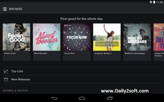 Spotify Music 6.1.0.1018 APK Mod Free Download Full Update Here!