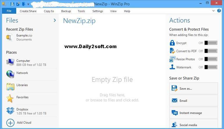 WinZip 20.5 Serial Key Crack Plus Keygen Download Full And Free Here