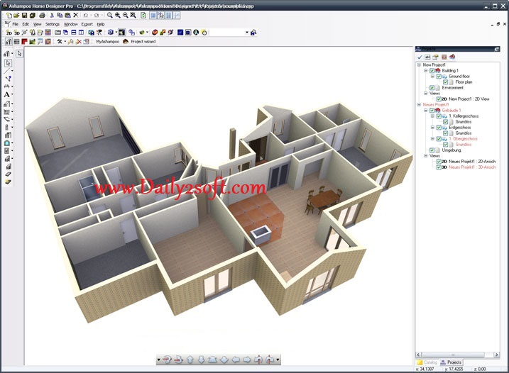 Ashampoo Home Designer Pro 3 Crack Serial Key Free Download Here!