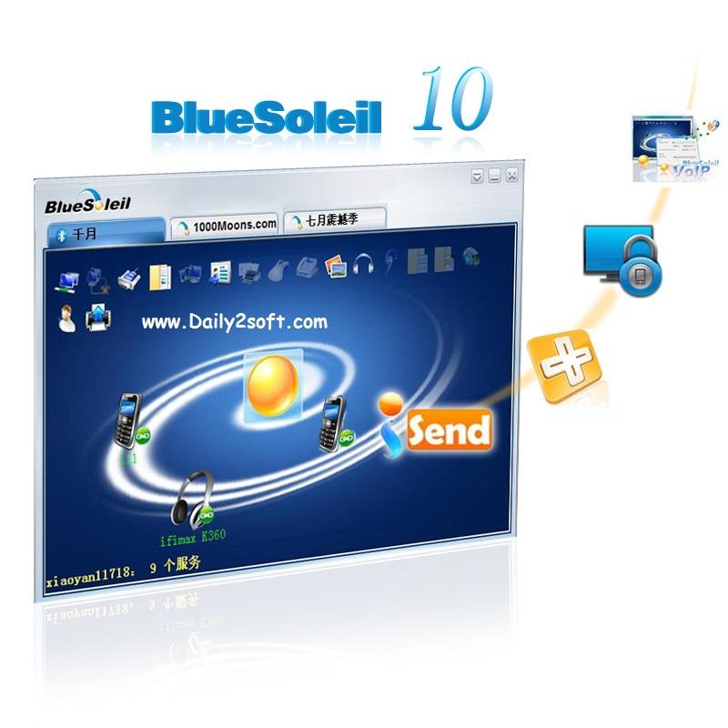 BlueSoleil 10.0.496.1 Crack Serial Number Free [Download] Latest Version!