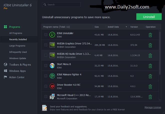 Iobit Uninstaller Pro 6.0.2 Daily2soft]