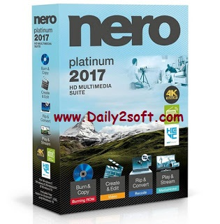 Nero 2017 Platinum 18.0.06100 Crack Key Latest-Download-Daily2soft