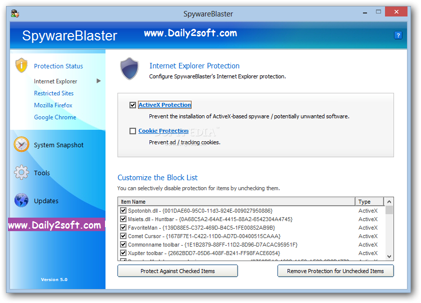 SpywareBlaster 5.5 Crack Keygen And Serial Key [Latest] Free Download