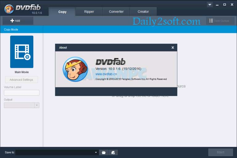 DVDFab 10.0.1.6 Crack & Serial Key Activated With 100% Working Link
