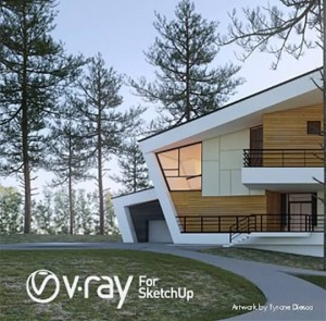 Vray 3 For SketchUp 2017 Crack Plus Serial Key Free Download [here]