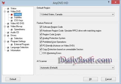 RedFox AnyDVD HD 8.1.1.0 Crack Patch, License Key Free Get Here!!