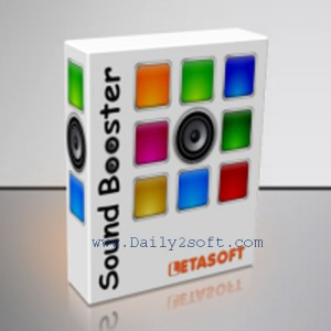 Sound Booster 1.4 Crack 2017 & Serial Key Full Free By Here