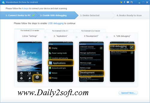 Wondershare Dr.Fone Crack For Android 8.3.2 Free Download Full [Version]