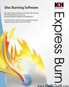 NCH Express burn 6.15 Crack & Registration Code Free Download