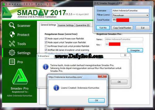 key register smadav pro 2017