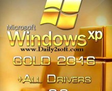 Gold Windows XP SP3 2016 With Drivers v2.0 Free Download Get {HERE}