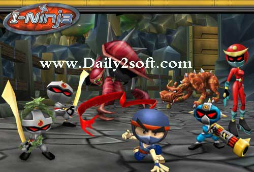 I-Ninja Repack Version Crack Full Patch Free Download For PC [here]