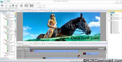 VSDC Video Editor Pro 5.8.1.788/789 Plus Crack Free Download Here!