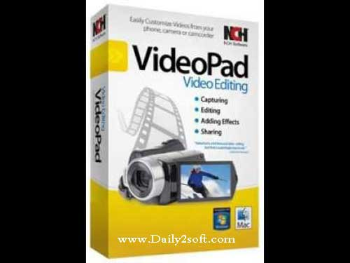 VideoPad Video 4 58 Crack Editor Professional Free Download