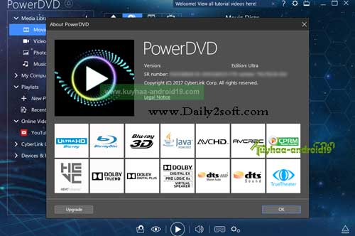 CyberLink PowerDVD Ultra 17.0.2302.62 Multilingual Free Full Here [Download]