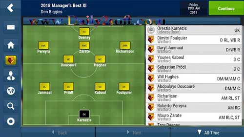 Football Manager Mobile 2018 v9.0.1 APK Free Download [Latest] Here!
