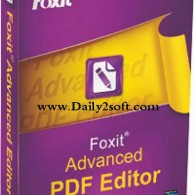 Foxit Advanced PDF Editor v3.10 2015 Full Crack Free Download [HERE]