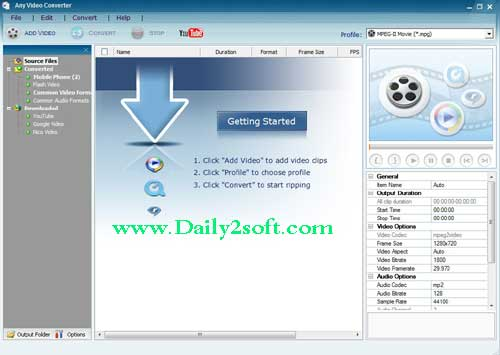 Any Video Converter Ultimate 6.1.9 Crack Full Download [HERE]
