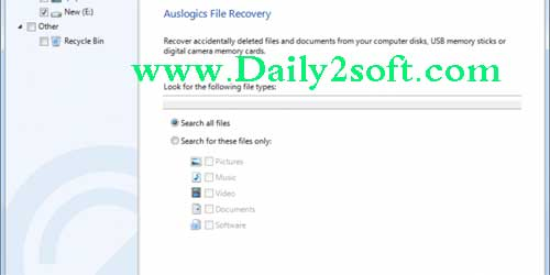 Auslogics File Recovery 8 Crack Plus License Key Free Download Here!