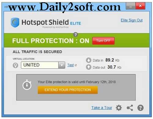 Hotspot Shield Elite 7.20.8 + Crack Plus Patch HERE! Daily2soft