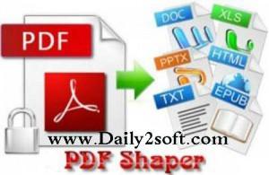 PDF Shaper Professional 7.4 Crack With License Keygen Download [HERE]